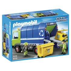 Playmobil 6110 : City Action : Camion de recyclage ordures