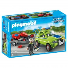 Playmobil 6111 - City Action : Jardinier avec véhicule