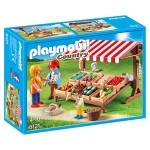 Playmobil 6121 : Country : Marchand avec étal de légumes