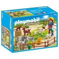 Playmobil 6133 : Country : Fermière avec animaux