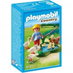 Playmobil 6141 : Country : Enfant avec oies et canards