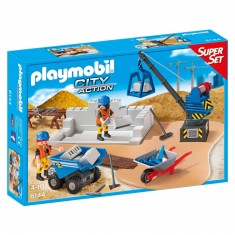Playmobil 6144 : City Action : SuperSet Construction