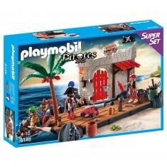 Playmobil 6146 : Pirates : SuperSet Îlot des pirates
