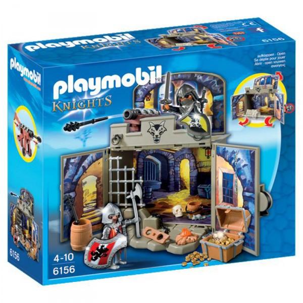 playmobil 6156 chevaliers coffre pi ce du tr sor des chevaliers jeux et jouets playmobil. Black Bedroom Furniture Sets. Home Design Ideas