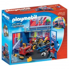 Playmobil 6157 : City Action : Coffre Atelier de moto