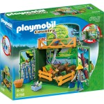 Playmobil 6158 : Country : Coffre Enclos des animaux de la forêt