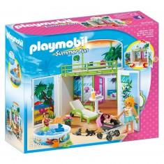 Playmobil 6159 : Summer Fun : Coffre Terrasse de vacances