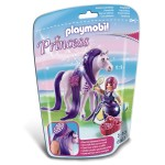 Playmobil 6167 : Princess : Princesse Violette avec cheval à coiffer