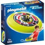 Playmobil 6183 : Sports & Action : Spationaute avec soucoupe