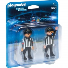 Playmobil 6191 : Sports & Action : Arbitres de hockey