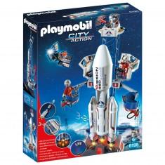 Playmobil 6195 : City Action : Base de lancement avec fusée