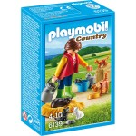 Playmobil 6634 : Country : Soigneur avec chats