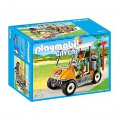 Playmobil 6636 - City Life : Soigneur animalier avec véhicule