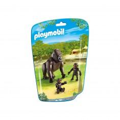 Playmobil 6639 - City Life : Gorille avec bébés