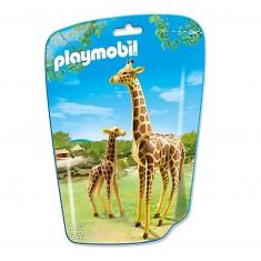 Playmobil 6640 - City Life : Girafe et girafon