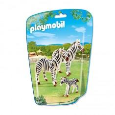 Playmobil 6641 - City Life : Famille de zèbres