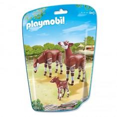 Playmobil 6643 - City Life : Couple d'okapis avec bébé