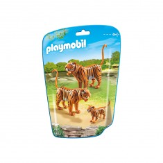Playmobil 6645 - City Life : Couple de tigres avec bébé