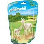 Playmobil 6647 - City Life : Alpaga et son petit