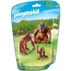 Playmobil 6648 - City Life : Deux orangs-outangs avec bébé