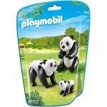 Playmobil 6652 - City Life : Famille de pandas