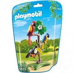 Playmobil 6653 - City Life : Perroquets et toucan