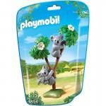 Playmobil 6654 - City Life : Famille de koalas