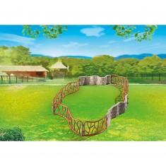 Playmobil 6656 : Enclos pour animaux du zoo