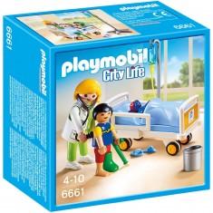 Playmobil 6661 : City Life : Chambre d'enfant avec médecin