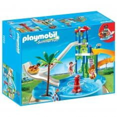 Playmobil 6669 : Summer Fun : Parc aquatique avec toboggans géants