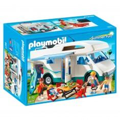 Playmobil 6671 : Summer Fun : Famille avec camping-car
