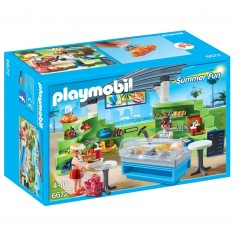 Playmobil 6672 : Summer Fun : Espace boutique et fast-food