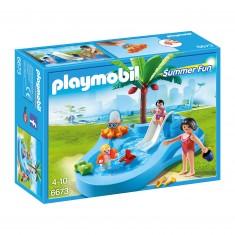Playmobil 6673 : Summer Fun : Bassin pour bébés et mini-toboggan
