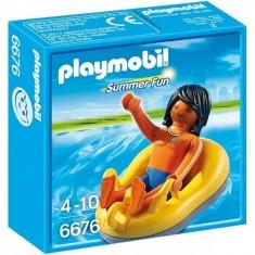 Playmobil 6676 - Summer fun : Vacancier et bouée de rafting