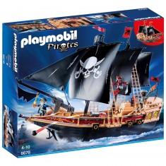 Playmobil 6678 : Pirates : Bateau pirates des ténèbres