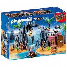 Playmobil 6679 : Pirates : Repaire pirates des ténèbres