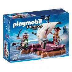Playmobil 6682 : Pirates : Radeau avec pirates des ténèbres
