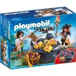 Playmobil 6683 - Pirates : Pirates et trésor royal