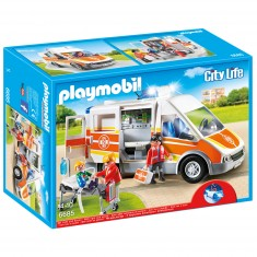 Playmobil 6685 : City Life : Ambulance avec gyrophare et sirène