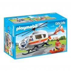 Playmobil 6686 : City Life : Hélicoptère médical