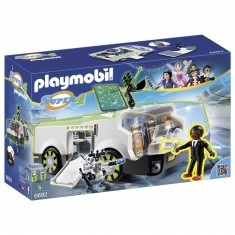 Playmobil 6692 :  Super 4 : Techno Caméléon avec Gene