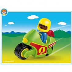 Playmobil 6719 : Enfant et moto de course