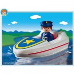 Playmobil 6720 : Policier/ bateau