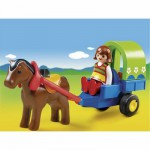 Playmobil 6779 - Chariot avec poney