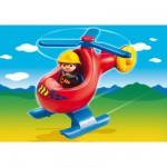 Playmobil 6789 : Pompier avec hélicoptère
