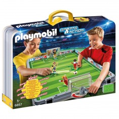 Playmobil 6857 : Sports & Action : Terrain de football transportable