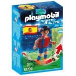 Playmobil 6896 : Sports & Action : Joueur de football espagnol