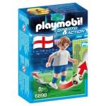Playmobil 6898 : Sports & Action : Joueur de foot anglais