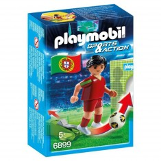 Playmobil 6899 : Sports & Action : Joueur de football portugais