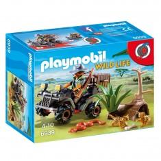 Playmobil 6939 : Wild Life : Braconnier avec quad